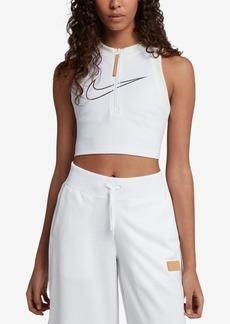 Nike Sportswear Mesh-Back Cropped Tank Top