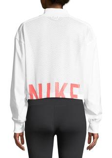 Nike Sportswear Mesh Bomber Jacket