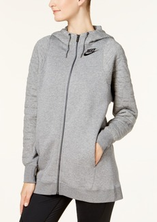 Nike Sportswear Quilted Fleece Zip Hoodie