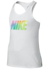 Nike Sportswear Rainbow Brush Tank Top, Big Girls
