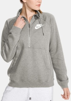 Nike Sportswear Rally Half-Zip Fleece Top