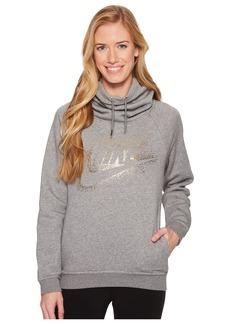 Nike Sportswear Rally Metallic Funnel-Neck Pullover Hoodie