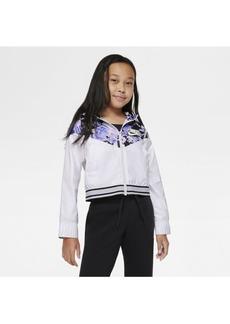 Nike Sportswear Wind Runner Big Girl's Graphic Jacket