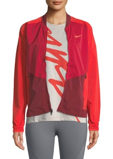 Nike Stadium Zip-Front Running Jacket