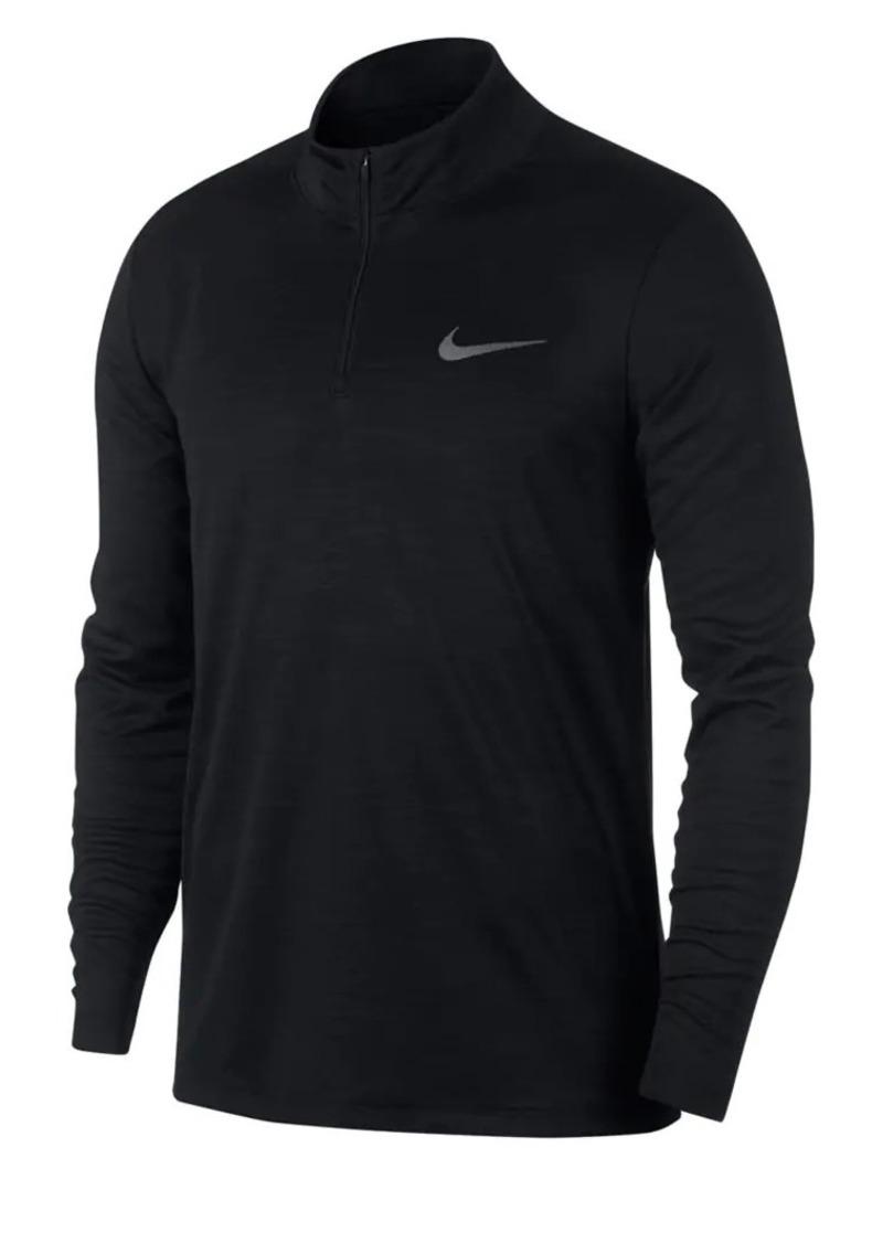 Nike Superset Long-Sleeve Quart-Zip Training Top