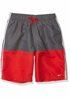 "Nike Swim Men's 9"" Split Volley Short Swim Trunk"