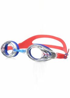 NIKE Swim Men's Hydroblast/Nike Progressor 2-Pack Swim Goggles Hyper Action Red
