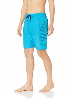 "Nike Swim Men's Logo Breaker 9"" Volley Short Swim Trunk"