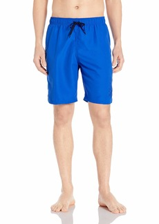 "Nike Swim Men's Logo Solid Lap 9"" Volley Short Swim Trunk"