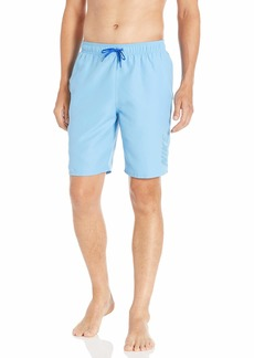 "Nike Swim Men's Logo Solid Lap 9"" Volley Short Swim Trunk"
