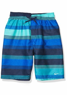 Nike Swim Men's Printed Volley Short Swim Trunk