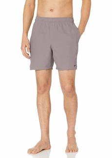 "Nike Swim Men's Solid Lap 7"" Volley Short Swim Trunk"