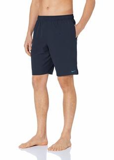 "Nike Swim Men's Solid Lap 9"" Volley Short Swim Trunk"