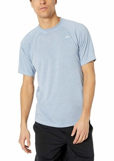 Nike Swim Men's UPF 40+ Short Sleeve Rashguard Swim Tee