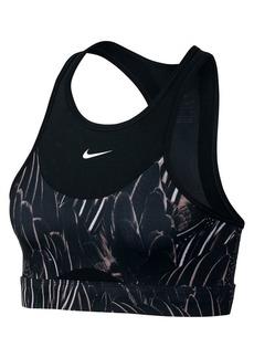 Nike Swoosh Feather Curve Medium Support Sports Bra