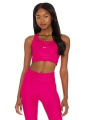 Nike Swoosh Textured Bra