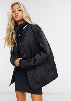 Nike synthetic fill jacket in black