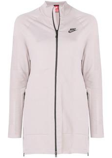Nike Tech Knit zipped jacket - Pink & Purple