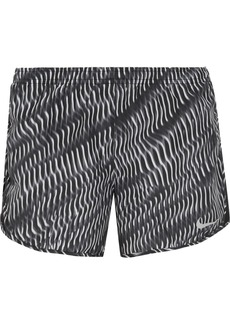 Nike Tempo mesh-trimmed printed shell shorts