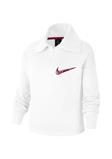 "Nike Therma Big Girl's Printed 0.5""-Zip Top"