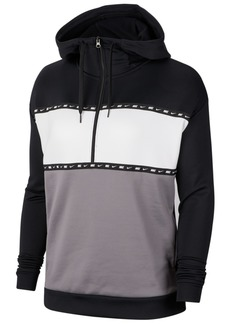 Nike Women's Therma Colorblocked Half-Zip Training Hoodie