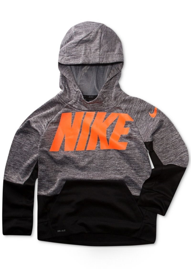 903fc5c7a2 Nike Nike Therma-fit Logo-Print Hoodie, Toddler Boys | Outerwear