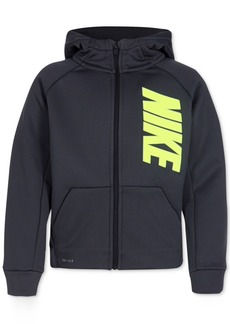 Nike Therma Fleece Full-Zip Hoodie, Little Boys