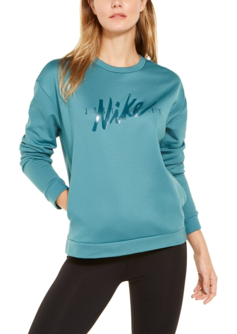 Nike Women's Therma One Logo Training Top