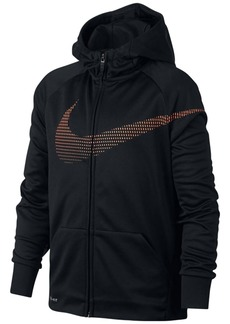 Nike Therma Training Full-Zip Hoodie, Big Boys