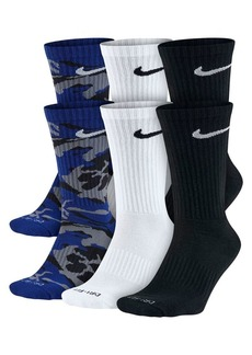 Nike Three-Pack Logo Crew Socks