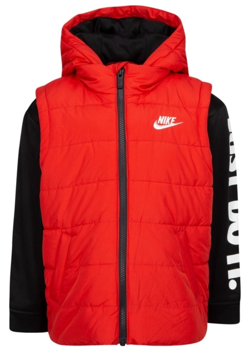 Nike Toddler Boys 2-In-1 Hooded Therma Jacket