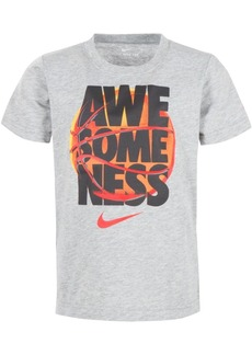 Nike Toddler Boys Awesomeness-Print Cotton T-Shirt