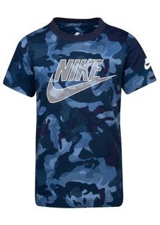Nike Toddler Boys Camo-Print Cotton T-Shirt