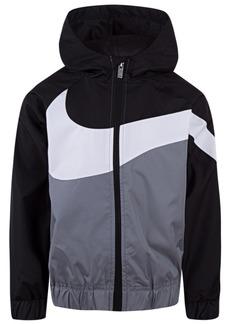 Nike Toddler Boys Colorblocked Swoosh Windrunner Jacket