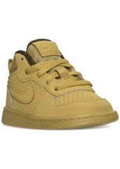 Nike Toddler Boys' Court Borough Mid Premium Casual Sneakers from Finish Line