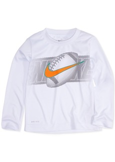 Nike Little Boys Dri-fit Football Graphic T-Shirt
