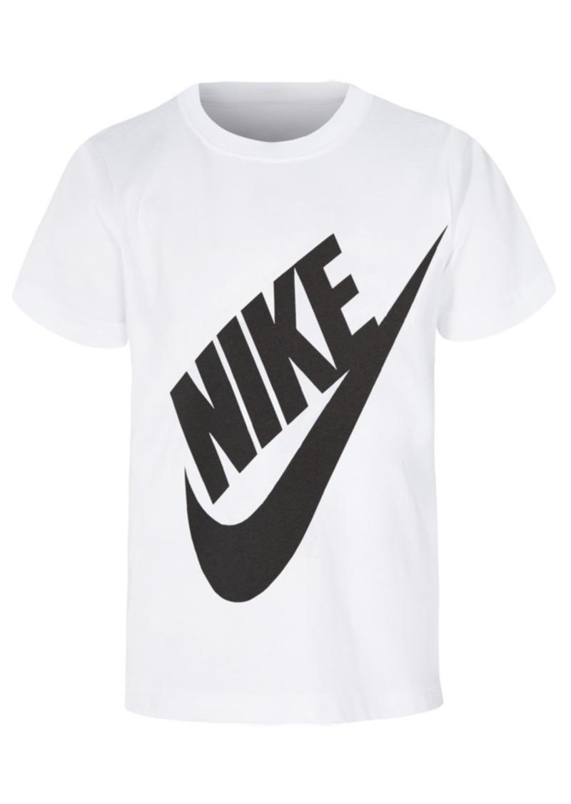 buy online 5d44a 29c76 Nike Toddler Boys Jumbo Futura Graphic-Print Cotton Shirt