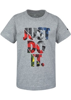 Nike Toddler Boys Just Do It-Print Cotton T-Shirt