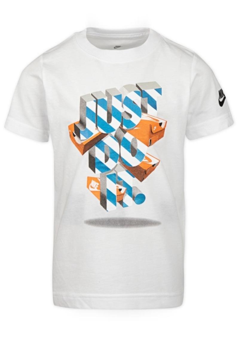 Nike Toddler Boys Just Do It-Print Cotton T-Shirt