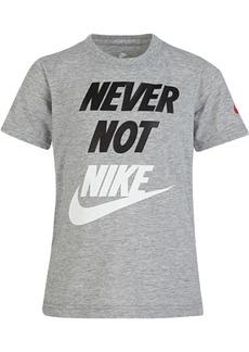 best loved fd967 4a2ac Nike Little Boys Never-Print T-Shirt