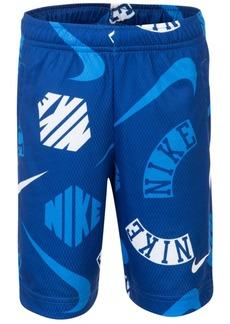 Nike Toddler Boys Printed Dri-fit Mesh Shorts
