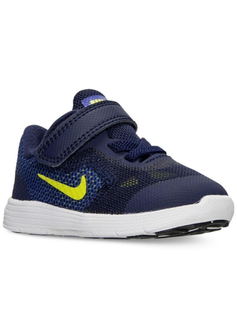 217f82b4867e Nike Nike Toddler Boys  Revolution 3 Running Sneakers from Finish ...