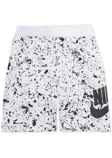 Nike Toddler Boys Sportswear Seasonal Alumni Printed Cotton Shorts