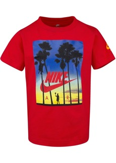 Nike Toddler Boys Sunset-Print Cotton T-Shirt