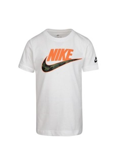 Nike Little Boys Swoosh Logo Graphic T-Shirt
