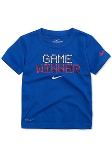 Nike Toddler Boys Winner-Print Glow-In-The-Dark T-Shirt