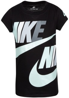Nike Toddler Girls Cotton Logo-Print T-Shirt