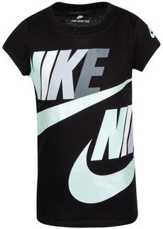 Nike Toddler Girls Cotton Logo-Print T-Shirt
