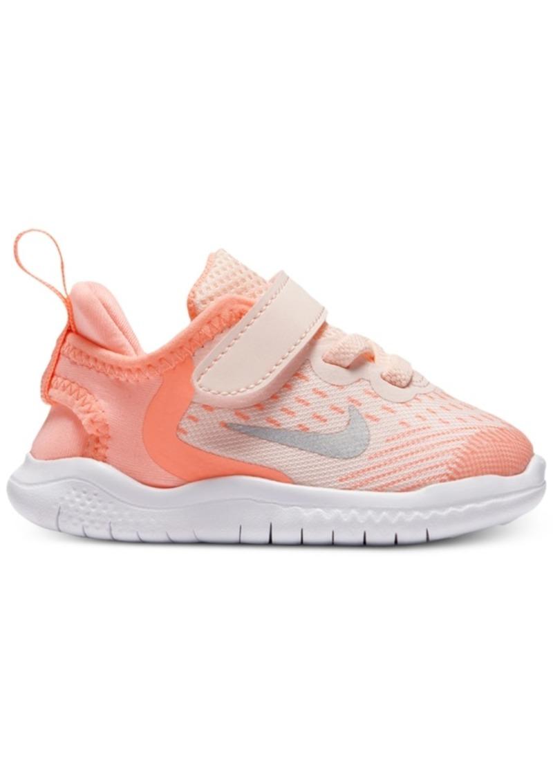 e76353e048a35 SALE! Nike Nike Toddler Girls' Free Run 2018 Running Sneakers from ...