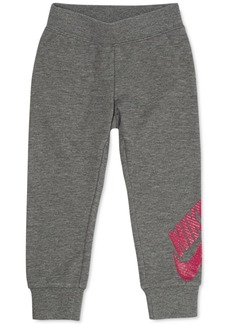 Nike Toddler Girls Futura Tapered-Fit French Terry Logo Joggers